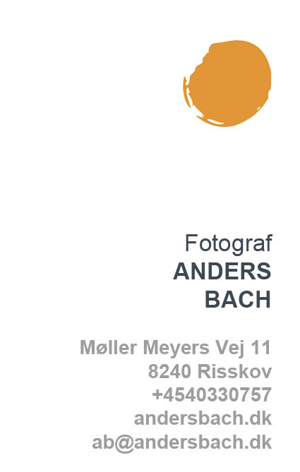 Fotograf Anders Bach